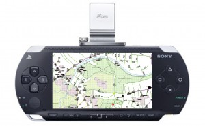 Sony PSP with GPS