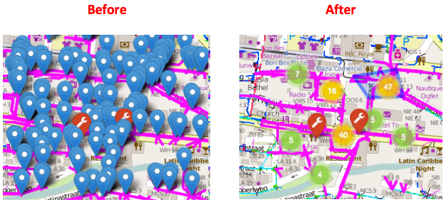 Pro Tip: Enable Clustering to Keep Your Maps Clean